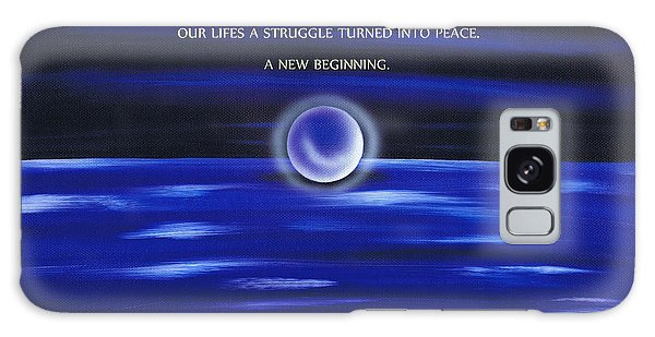New Beginings Galaxy Case by Kenneth Clarke