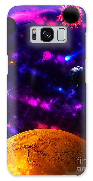 New Life  Galaxy Case by Naomi Burgess