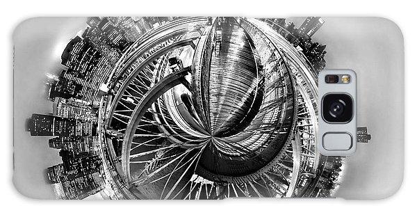 Brooklyn Bridge Galaxy Case - Manhattan World by Az Jackson