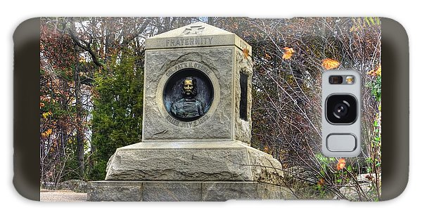 New York At Gettysburg - 140th Ny Volunteer Infantry Little Round Top Colonel Patrick O' Rorke Galaxy Case