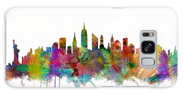 City Scenes Galaxy S8 Case - New York City Skyline by Michael Tompsett