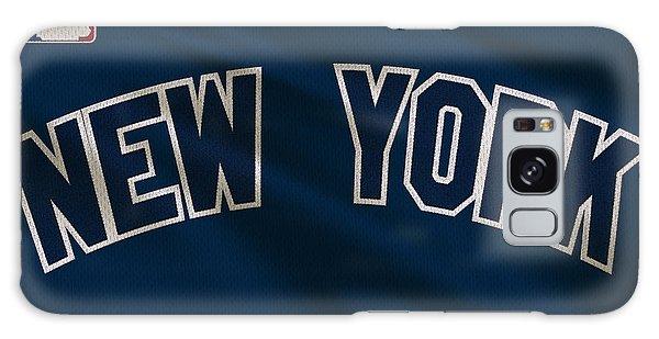 Derek Jeter Galaxy S8 Case - New York Yankees Uniform by Joe Hamilton