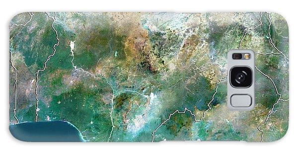 Nigeria Galaxy Case - Nigeria by Planetobserver/science Photo Library