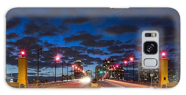 Flagler Galaxy Case - Night Lights by Debra and Dave Vanderlaan