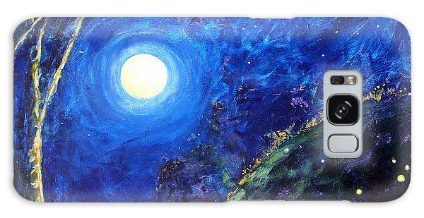 Night Lilies Galaxy Case