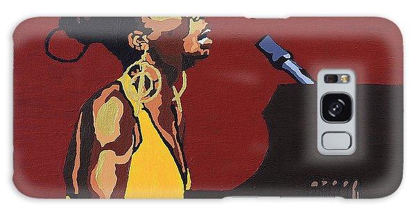 Nina Simone Galaxy Case by Rachel Natalie Rawlins