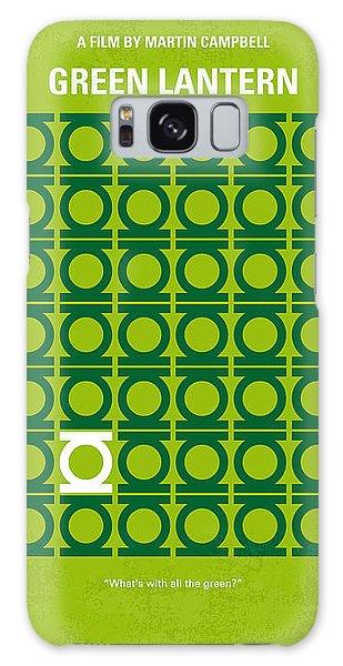 Green Galaxy Case - No120 My Green Lantern Minimal Movie Poster by Chungkong Art