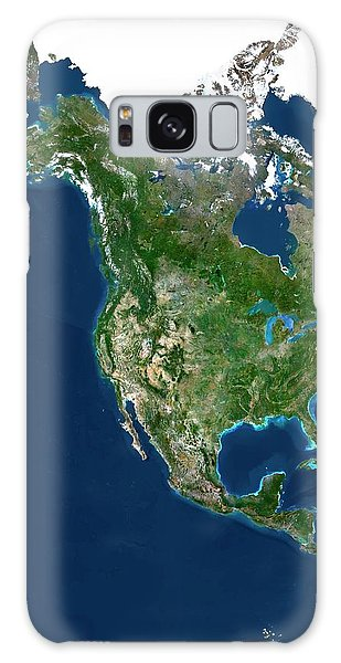 Usa Map Galaxy Case - North America by Planetobserver/science Photo Library