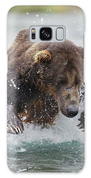 Grizzly Bears Galaxy Case - North America, Usa, Alaska, Geographic by Joe and Mary Ann Mcdonald