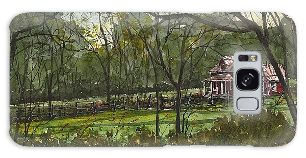 North Carolina Red House Galaxy Case by Tim Oliver