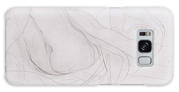 Beautiful Girl Galaxy Case - Nude by Auguste Rodin