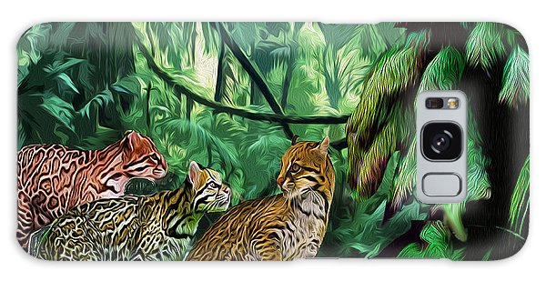 Ocelot Outing Galaxy Case