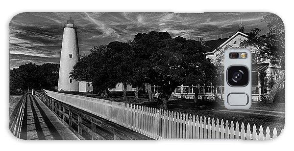 Ocracoke Lighthouse Galaxy Case by Tony Cooper
