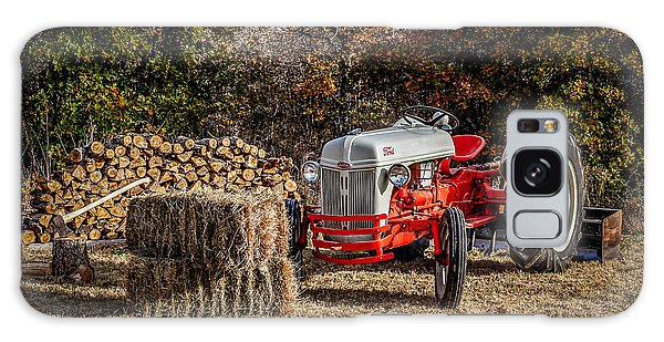 Old Ford Tractor Galaxy Case by Doug Long