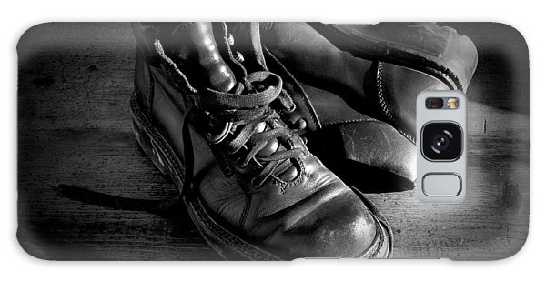 Old Leather Shoes Galaxy Case