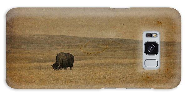 Western Themed South Dakota Bison  Galaxy Case