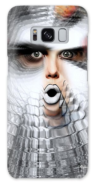 Galaxy Case featuring the painting OMG by Rafael Salazar