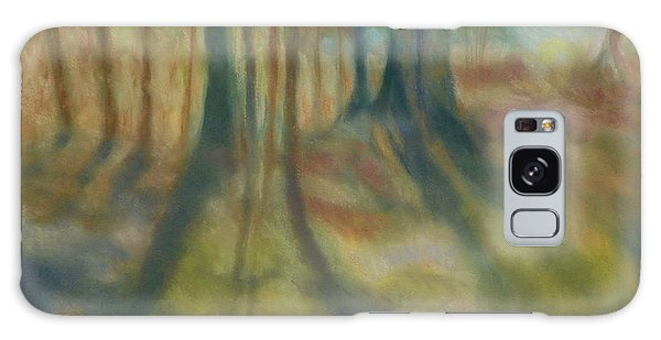 On Mossy Ground II Galaxy Case by Shirley Moravec