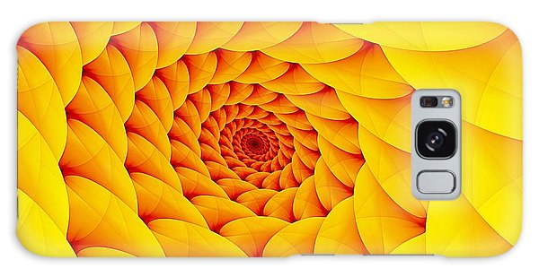 Yellow Pillow Vortex Galaxy Case