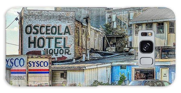 Osceola Hotel Galaxy Case by MJ Olsen