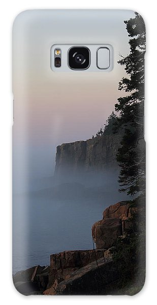 Otter Cliffs 2 Galaxy Case