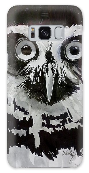 Owl Eyes Galaxy Case
