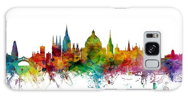 England Galaxy Case - Oxford England Skyline by Michael Tompsett