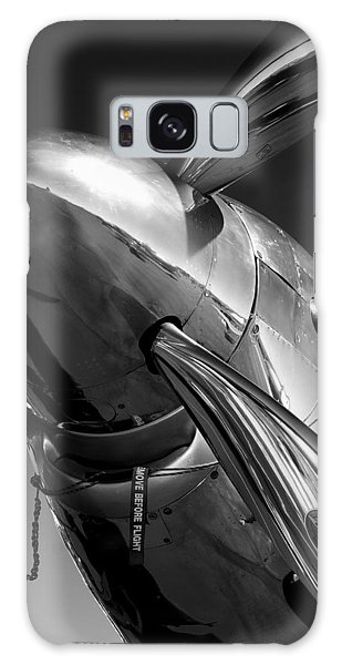 P-51 Mustang Galaxy Case by John Hamlon