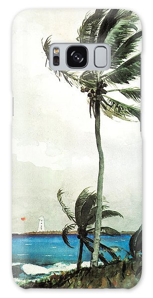 Palm Tree Nassau Galaxy Case