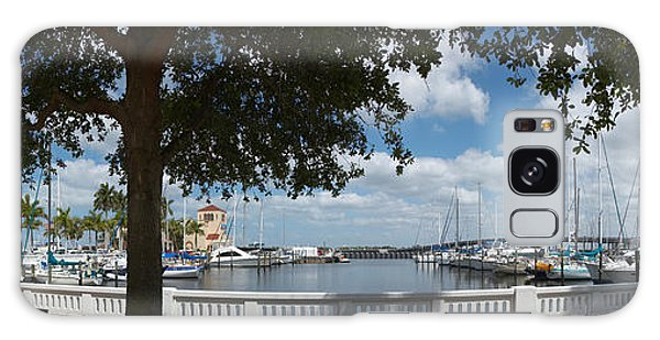 Bradenton Galaxy Case - Park At The Riverside, Twin Dolphin by Panoramic Images