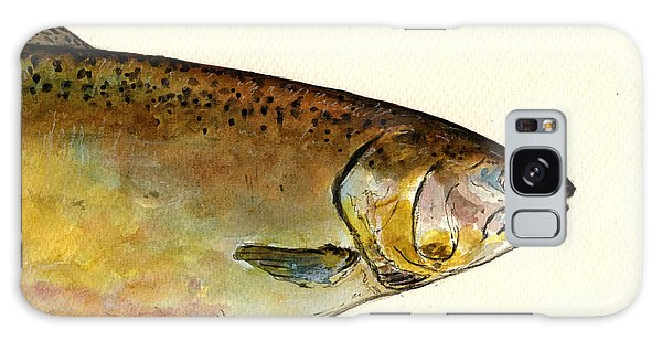 Salmon Galaxy S8 Case - 1 Part Chinook King Salmon by Juan  Bosco