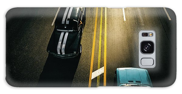 Vintage Cars Galaxy Case - Passing Cars by Yancho Sabev
