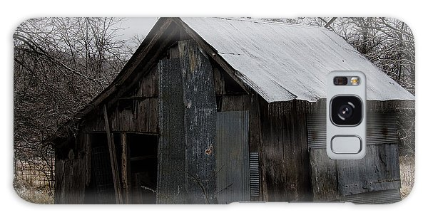 Patchwork Barn With Icicles Galaxy Case