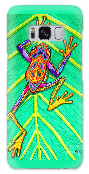 Peace Frog Galaxy Case by Nick Gustafson