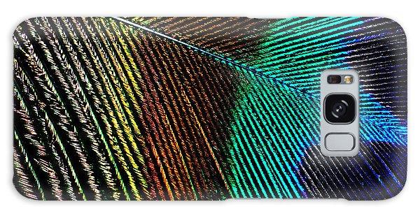 Peacock Feather Galaxy Case