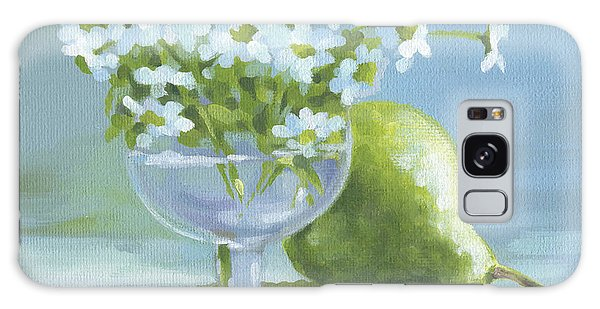 Pear And Daisies Galaxy Case
