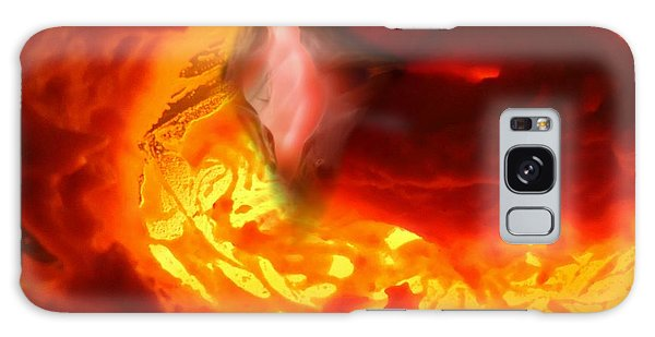 Pele Goddess Of Fire And Volcanoes Galaxy Case