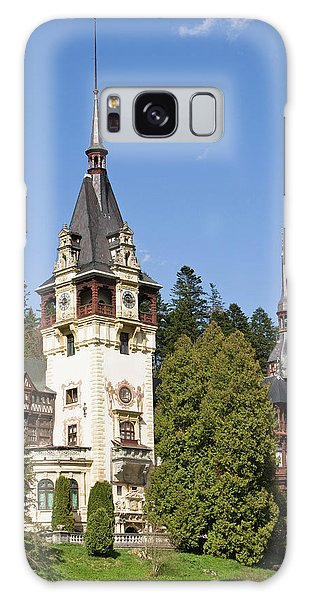 Peles Castle, Sinaia, Carpathian Galaxy Case by Martin Zwick