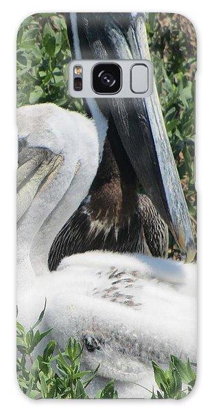 Pelicans Of Beacon Island 2 Galaxy Case by Cathy Lindsey