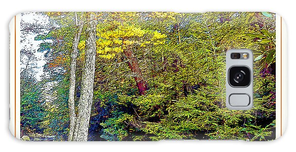 Galaxy Case - Pennsylvania Mountain Stream In Autumn by A Gurmankin