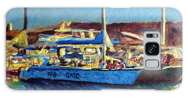 Pez Gato In Afternoon Sun Galaxy Case by Gerhardt Isringhaus