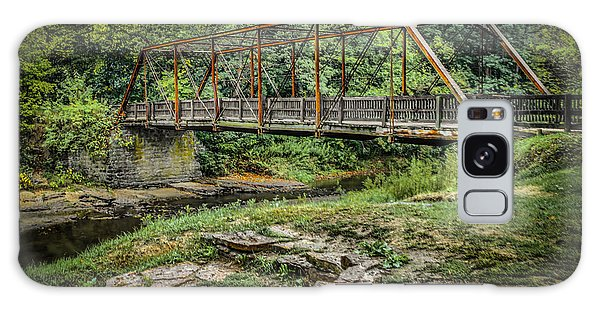Pine Creek Bridge Galaxy Case by Ray Congrove