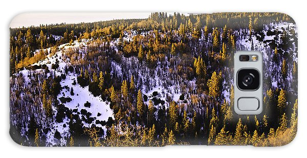 Galaxy Case featuring the photograph Pines On The Ridge  by Sherri Meyer