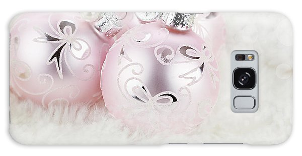 Pink Ornaments Galaxy Case