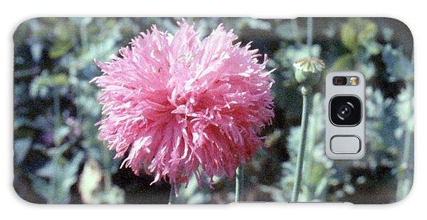 Pink Poppy Galaxy Case