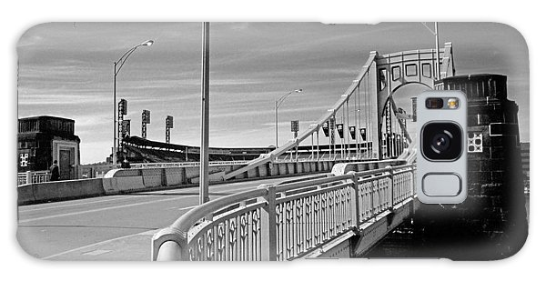 Pittsburgh - Roberto Clemente Bridge Galaxy Case by Frank Romeo
