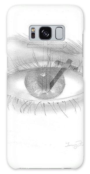 Plank In Eye Galaxy Case