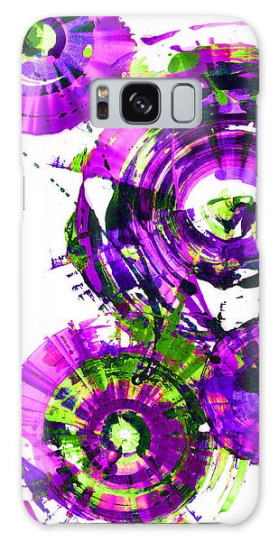 Playing In The Wind 1000.042312 - Popart-3 Galaxy Case by Kris Haas