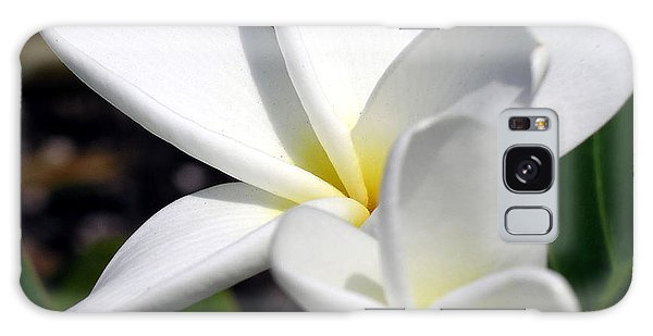 Plumeria Pair Galaxy Case by Karen Nicholson