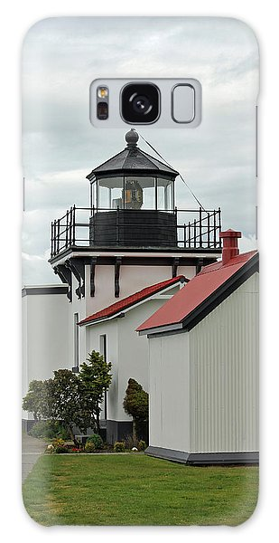 Point No Point Lighthouse Galaxy Case by E Faithe Lester